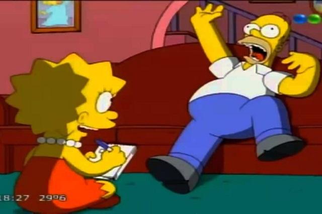 Artista muestra cómo se vería Homero Simpson en la vida real
