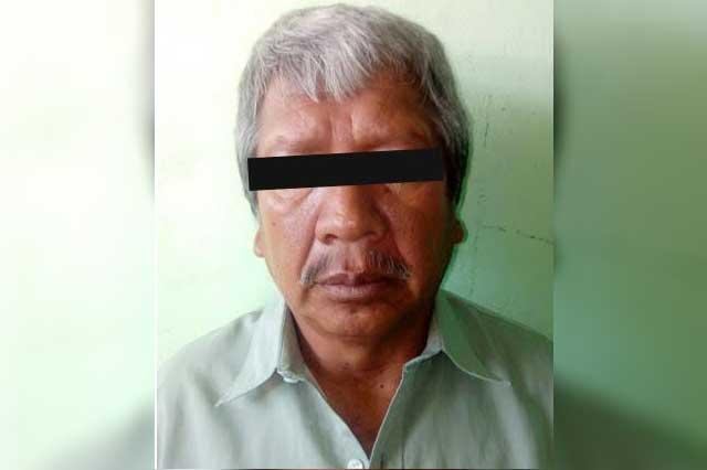 Fiscalía General detiene a presunto homicida en Petlalcingo