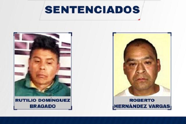 Dan 20 años de prisión a homicidas de Huauchinango