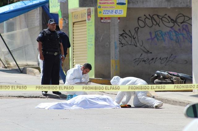 Narcomenudeo, principal móvil en racha de ejecutados en Puebla: FGE