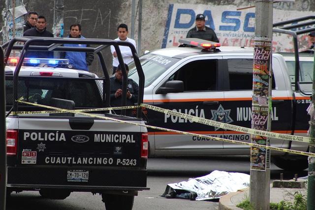 Grupos criminales se disputan las calles de Puebla: Barbosa
