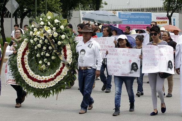 Que homicidio de Meztli Sarabia se investigue como feminicidio: Saldaña