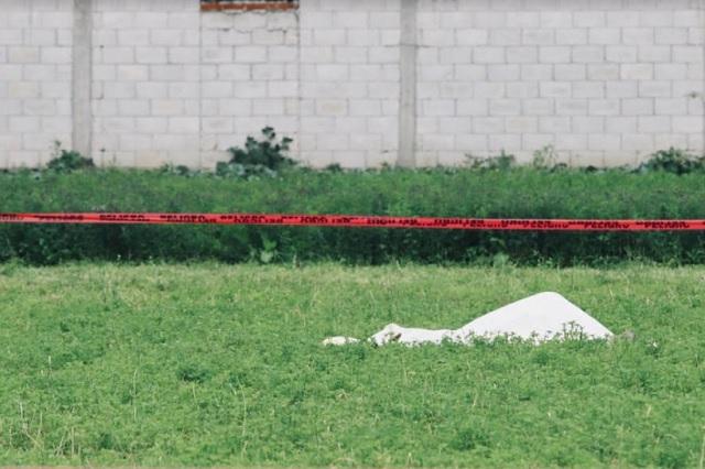 A golpes y puñaladas matan a hombre en San Andrés Cholula