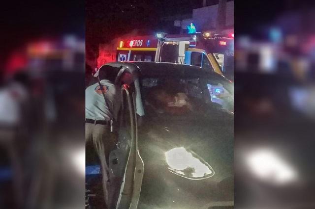 Agreden a balazos a dos en Momoxpan, uno de ellos murió