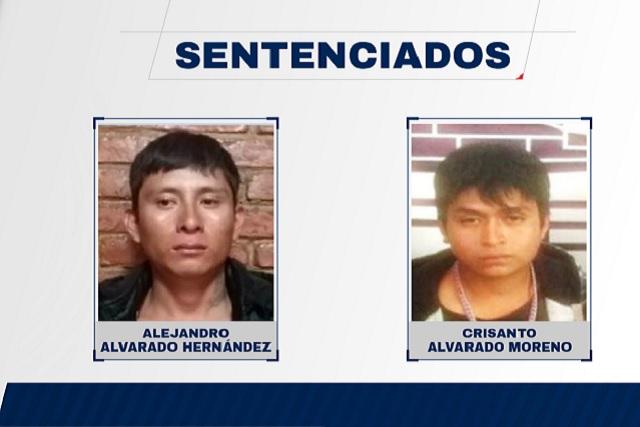 Dan 21 años de prisión a dos hombres por homicidio