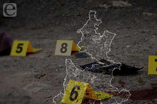 Con 43 homicidios cerró Puebla la primera quincena de agosto