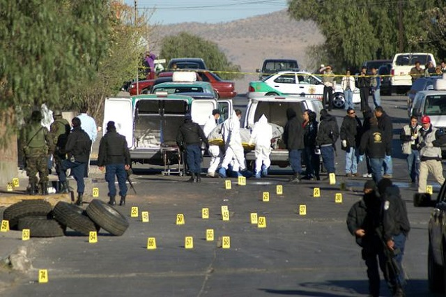 En 2017 se cometieron 31 mil 174 homicidios en México, reporta INEGI