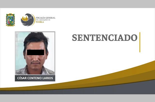 Le dan 20 años de prisión por homicidio en Puebla