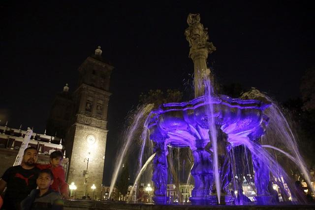 Alista comuna de Puebla dejar fuentes en buen estado