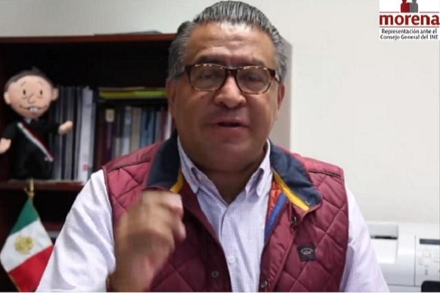 Morena impugna la multa de 197 mdp que le impuso el INE