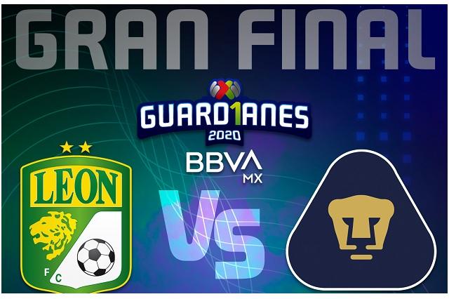 Liga MX define fechas y horarios para la Gran final entre León y Pumas