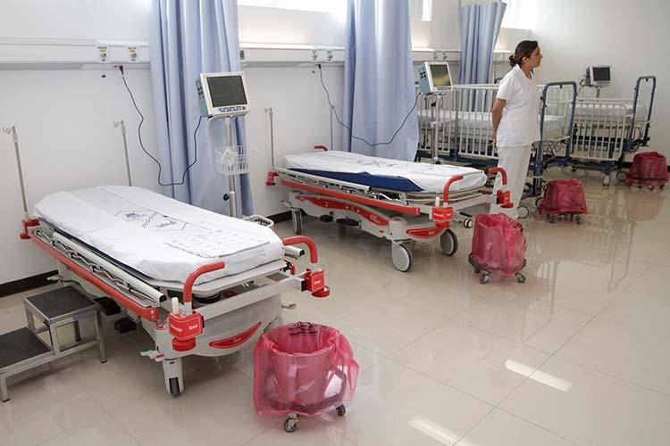 Covid-19 en Puebla: una cama de hospital por cada mil personas