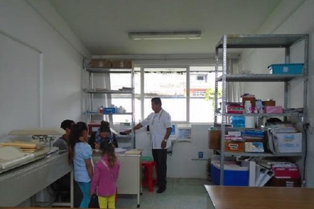 Protestan sindicalizados del sector Salud en Huauchinango