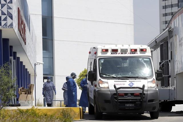 Muere en Puebla joven de 22 años por Covid; 283 decesos