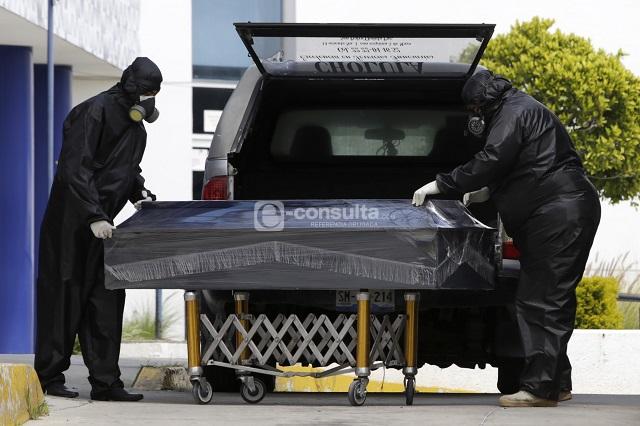Covid en Puebla mantiene a la baja número de muertes