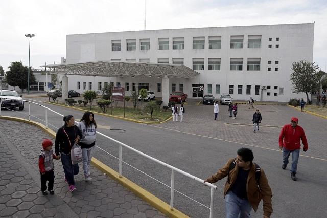 Dejan a Puebla fuera de obras iniciales del Insabi