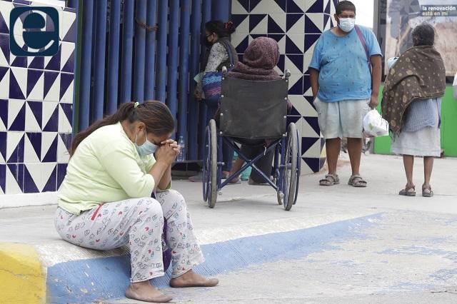 Casos covid agotan camas en cuatro hospitales de Puebla