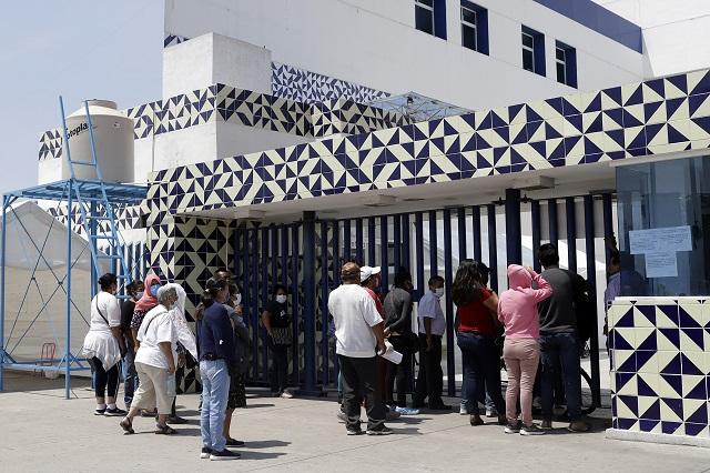 Repunta Covid-19 en Puebla: 604 casos y 124 muertos