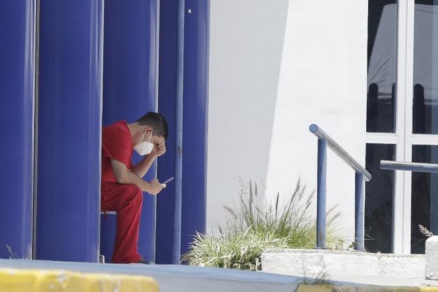 Puebla, en el Top 5 de muertes por Covid en personal de salud