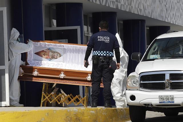 Mueren en 8 meses 38 mil 313 personas en Puebla, la misma cifra de todo el 2019