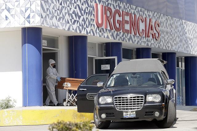Muertes y contagios por Covid en Puebla se mantienen al alza
