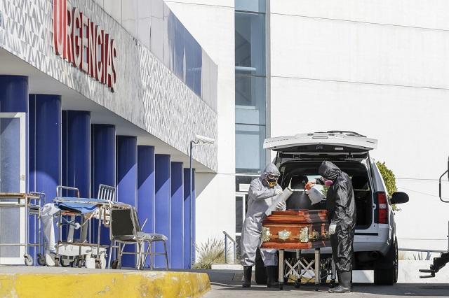 Llegan a 8 mil los decesos por Covid-19 en Puebla: Salud