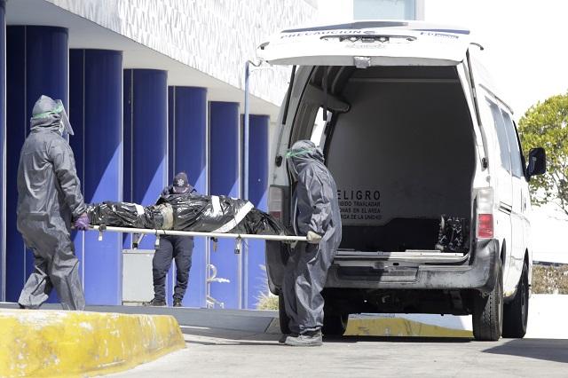 En dos semanas, más de mil muertes por Covid en Puebla