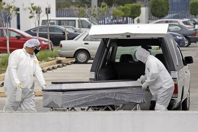 Prevén de 4,600 a 8,900 muertos en Puebla por Covid en octubre