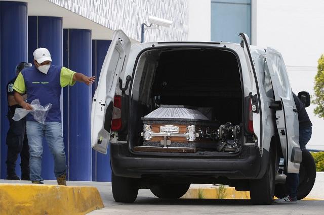 Supera Puebla en 37% pronóstico de muertes por Covid-19