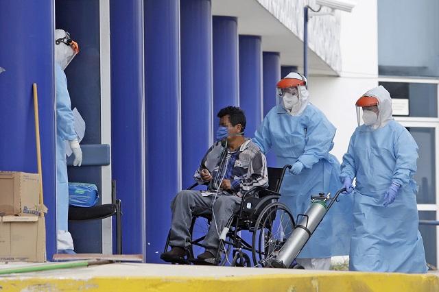 Hospitales Covid en Puebla al 70 % de su capacidad