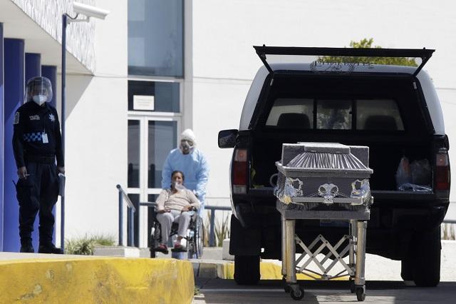 Muertes por Covid-19 en México superan a las de Rusia e India