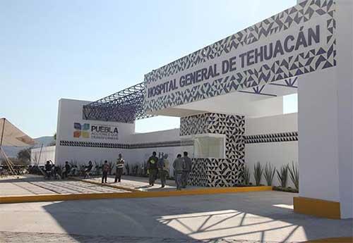 Reabren áreas de cerradas del Hospital General de Tehuacán