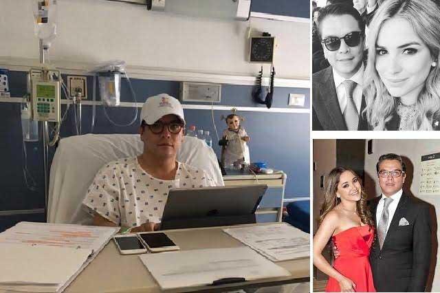 Agradece Gerardo Islas a nueva pareja sus cuidados en el hospital