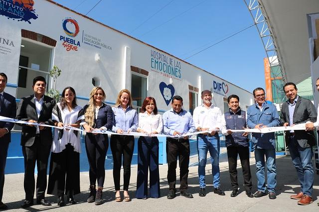 Inaugura Dinorah López de Gali el Hospital de las emociones
