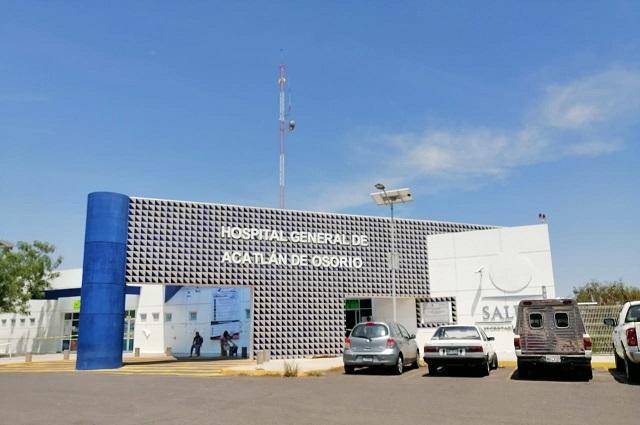 Habilitan hospital de Acatlán para casos de  Covid-19