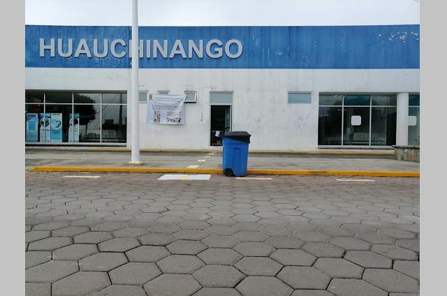 Reconvierten Hospital General de Huauchinango en Covidtario
