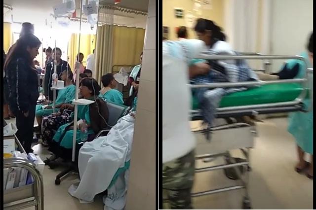 Desalojo en IMSS San Alejandro pega a hospital de La Margarita