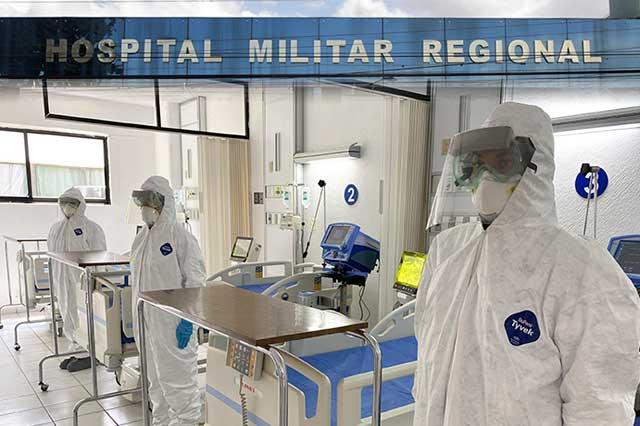 El Hospital Militar, sin camas con ventilador libres para Covid