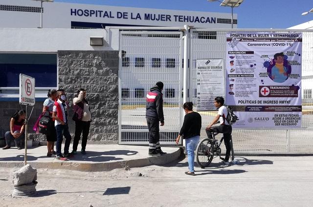 Acusan abuso de poder en Hospital de la Mujer de Tehuacán