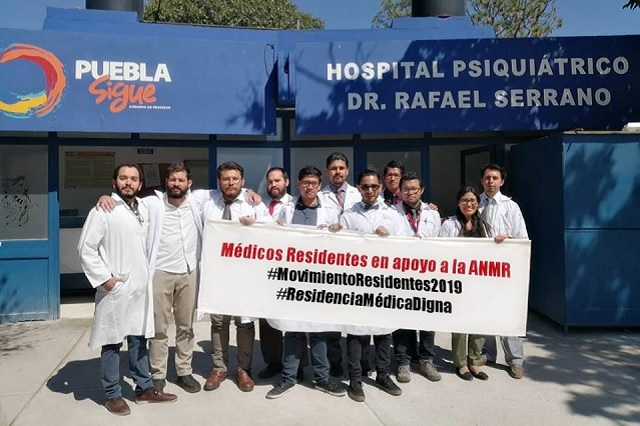 Médicos residentes poblanos podrían sumarse a paro nacional