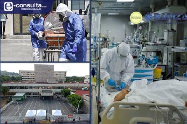 Llega a tope capacidad del IMSS en Puebla para pacientes Covid