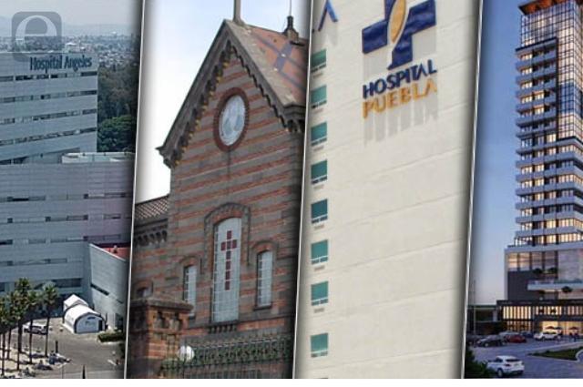 Puebla es séptimo en hospitales privados y tienen 1,721 camas