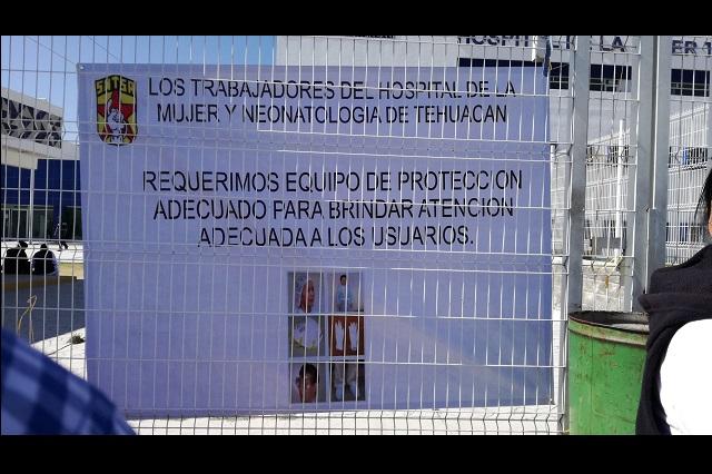 Llegan insumos a hospitales de Tehuacán pero muy lentos