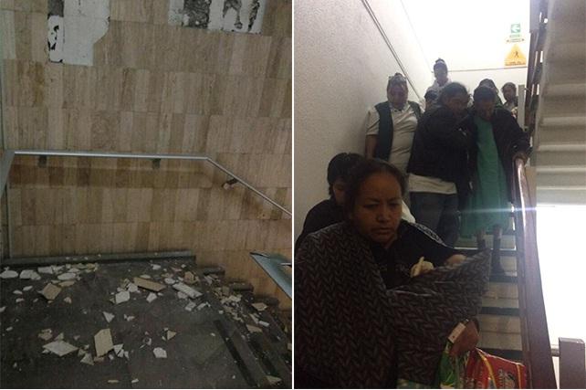 Daños en recubrimientos de hospital San Alejandro; no son estructurales