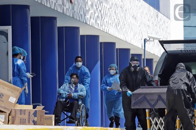 Rebasa Puebla las 14 mil muertes por causa de la pandemia