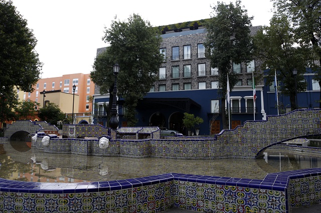 Presentan Azul Talavera  Hotel, que sustituye al Rosewood