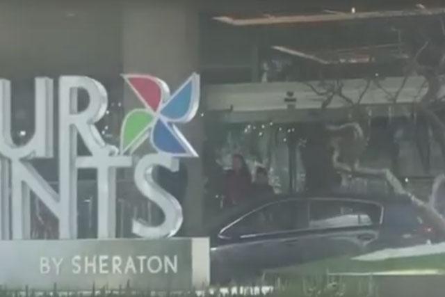 Operadores de Prospera se concentran en hotel de la capital