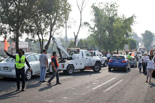 Ciudadana gana amparo al Hoy No Circula en Puebla