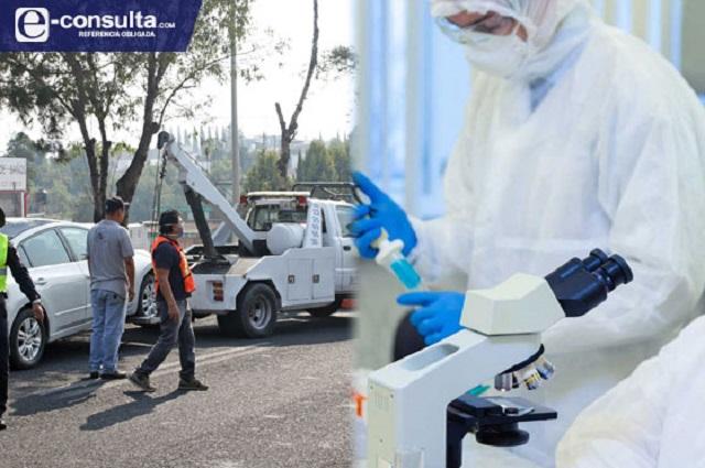 Acaba Hoy no Circula en Puebla hasta con 1,700% más contagios