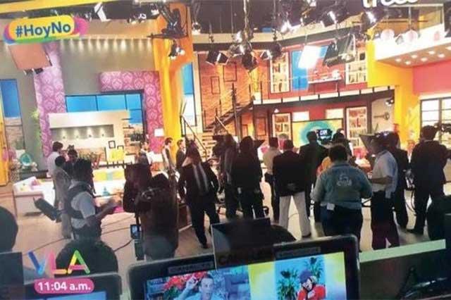 Ventanean a Hoy monitoreando a Venga la Alegría de Tv Azteca